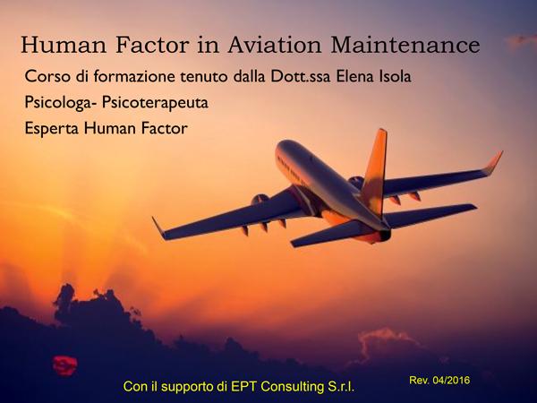 Manuale Human Factor